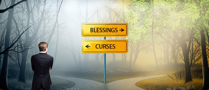 Image result for blessings curses
